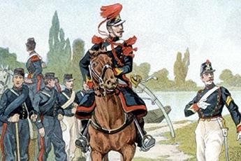 Commémoration du 12e Régiment d'Artillerie et des Artilleurs - Territoire 1870