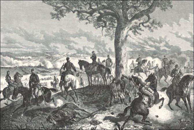 Mac Mahon à la bataille de Woerth